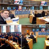 Victor Negrescu a prezentat în Parlamentul European campaniaPES activists Romaniapentru salariu minim european în prezența Comisarului European pentru Drepturi Sociale, Nicolas Schmit