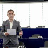 Prima sesiune plenară în Parlamentul European, prima intervenție în plen a europarlamentarului Victor Negrescu, privind nevoia de a crea un statut nou pentru cetățenia europeană.